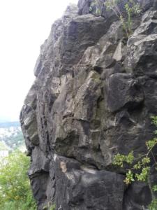 Západní stěna jižního vrcholu Baba
