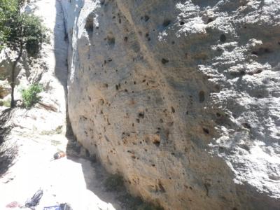 Vápencová oblast Monte Cucco v Itálii