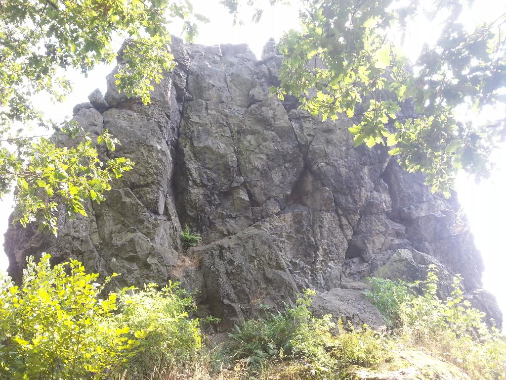 Skalní věž Čima ze severní strany