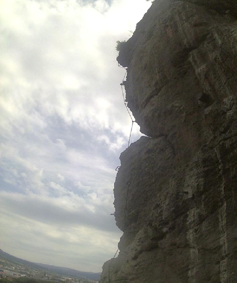 Via ferrata na Pastýřské stěně