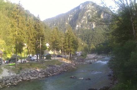 Řeka Salza - Wildalpen