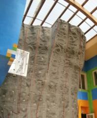 lezení na umělých stěnách