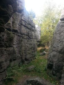 Bouldering na pískovcových skalách