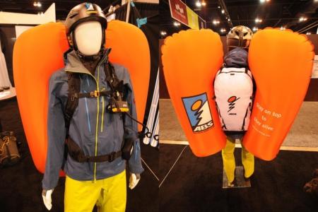 Lavinový batoh s airbagy