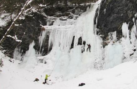Ledovcové lezení
