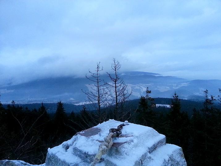 Výhled od Modrých kamenů