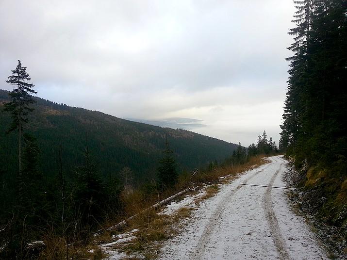 Turistická trasa na Černou horu