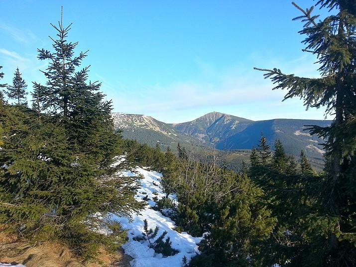 Výhled z Liščí hory