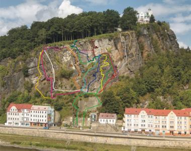 Průvodce Pastýřská stěna