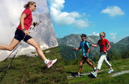 Nordic running v horách