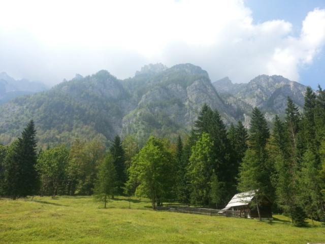 Začátek Julských Alp