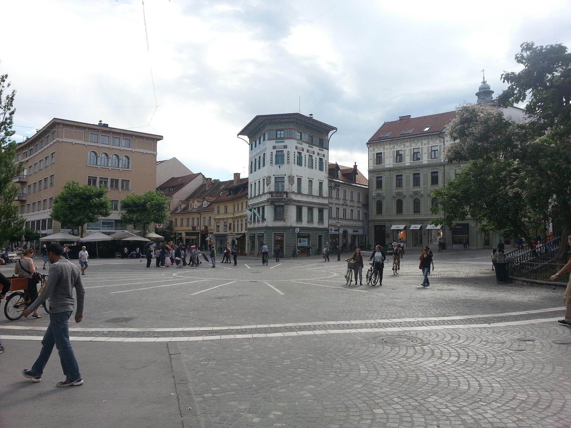 Náměstí v Lublani