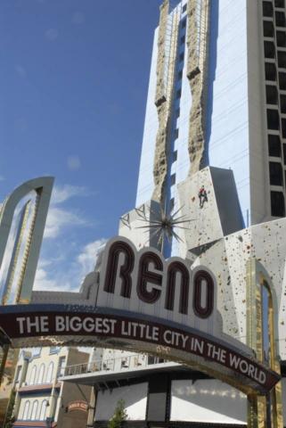 Nejvyšší horolezecká stěna, Reno