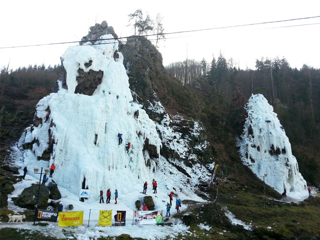Ledová stěna Vír