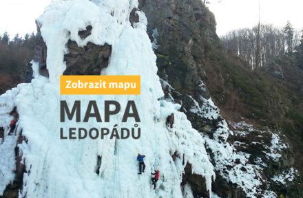 Rozeskok mapa ledopádů