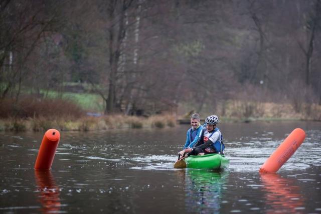Disciplína -  jízda na kanoi