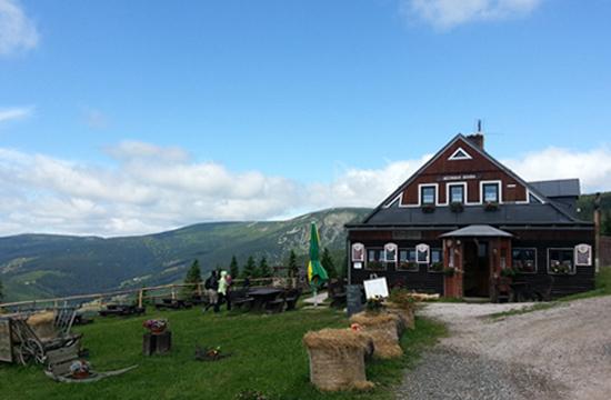 Děčínská bouda v Krkonoších