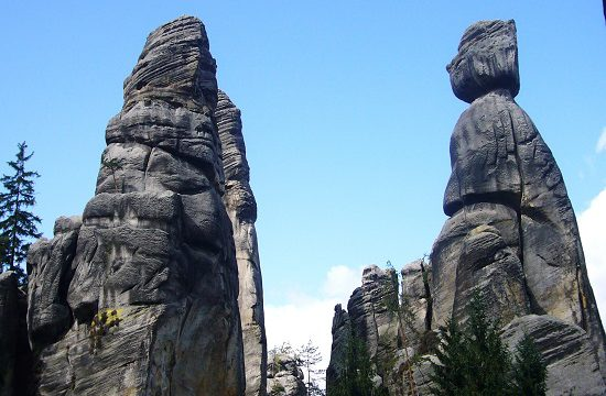 Teplické skály v Adršpachu