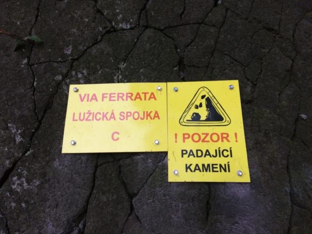Nová via ferrata u Vaňova