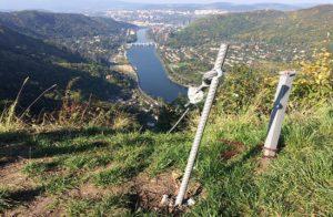 Lužická spojka – nová ferrata u Ústí nad Labem