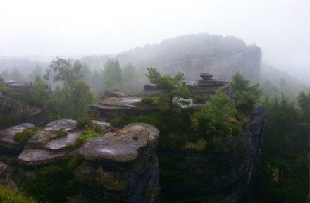Pohled z Malých Tiských stěn