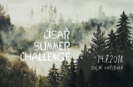 Banner události Císař Challenge 2018 v Dolní Chřibské s datem konání