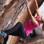 Bouldering na pískovcové skále