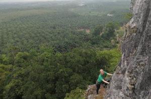 Jak se leze na první malajskou ferratu