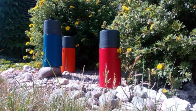 Barevné kombinace outdoorových termosek GSI