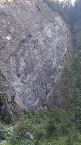 Nástup na ferratu HZS Tatranská kotlina ve Vysokých Tatrách