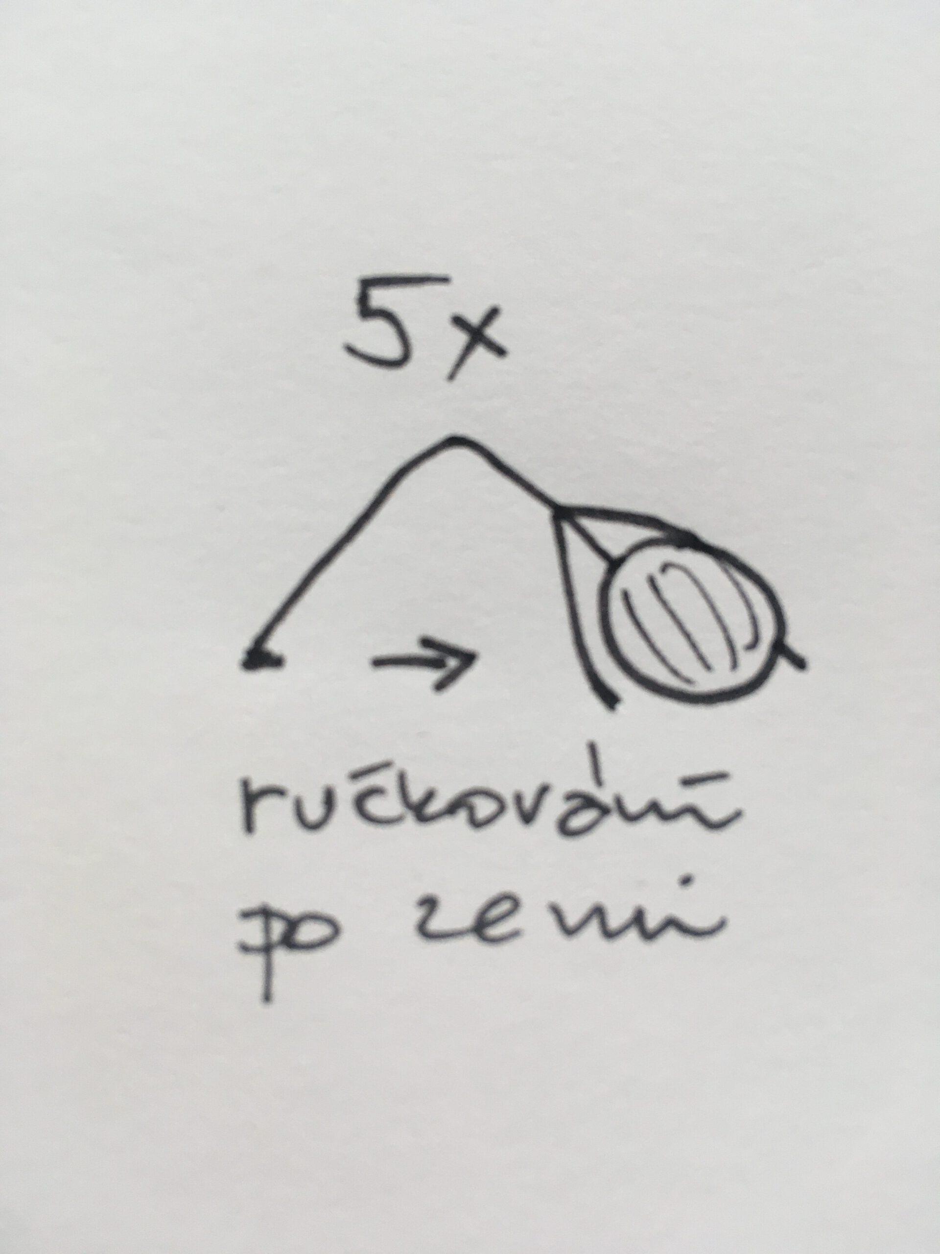 5x opakování