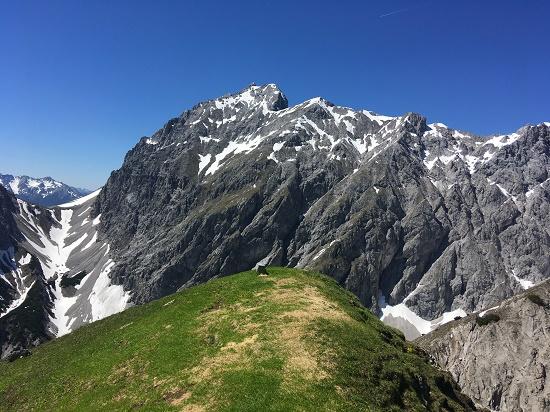 Na vrcholku Wankspitze